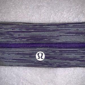 Purple Lulu Lemon Headband